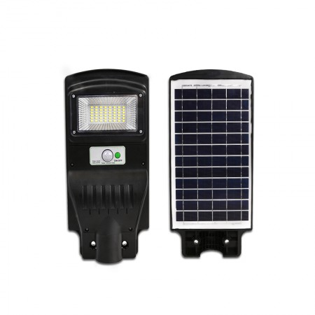 Lampa Stradala LED 30W Cu Incarcare Solara, Telecomanda si Senzor - Ledel