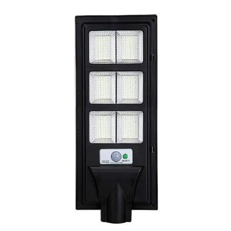 Lampa Stradala LED Cu Incarcare Solara si Senzor 120W - Ledel