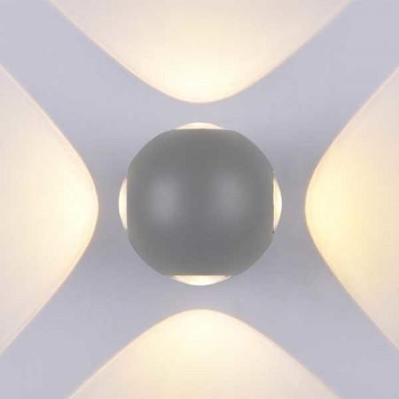 4W Aplica Design Gri Rotunda De Perete - Ledel