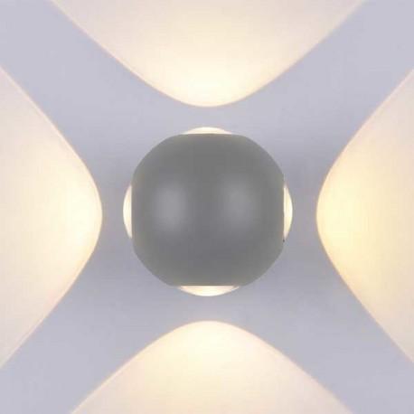 4W Aplica Design Gri Rotunda De Perete