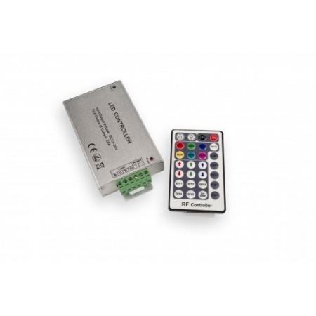 Controler cu Telecomanda RF pentru Banda LED RGB 12V 216W 28 Butoane - Ledel