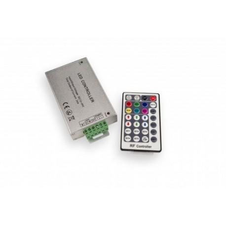 Controler cu Telecomanda RF pentru Banda LED RGB 12V 216W 28 Butoane
