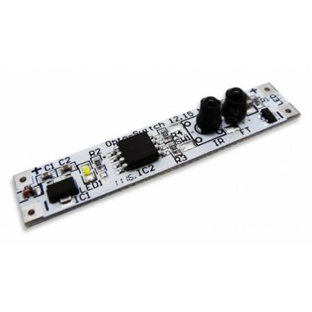 Comutator fara contact cu dimmer PWM 12/24V 60/72W pentru Profile - Ledel