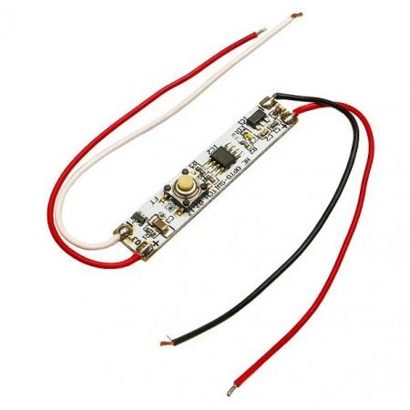Comutator Touch Dimabil Cu Buton 60/72W 12/24V Pentru Profile - Ledel