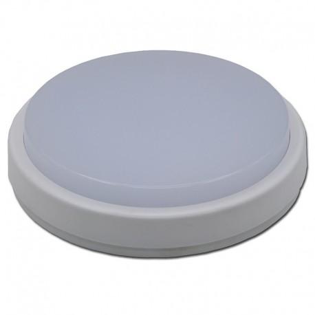 Aplica LED exterior, rotunda, de tavan, 8W