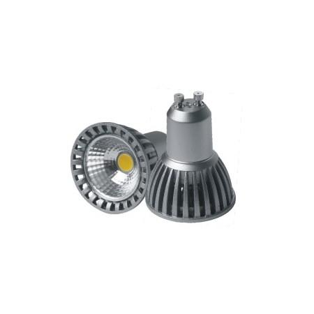 Bec Spot LED GU10 4W VARIABIL COB lumina calda/rece/neutra