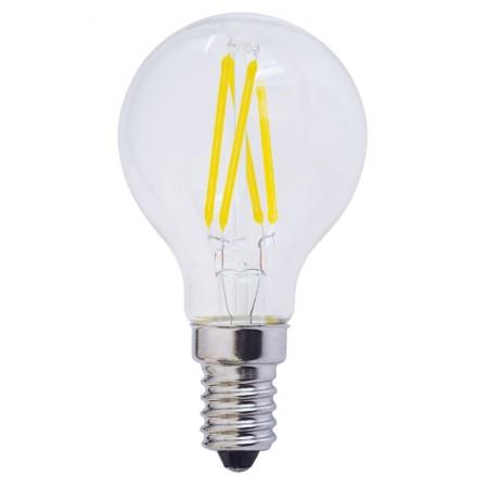 Bec LED E14 FILAMENT G45 4W 400Lm - Ledel
