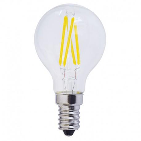 Bec LED E14 FILAMENT G45 4W 400Lm lumina calda/neutra/rece
