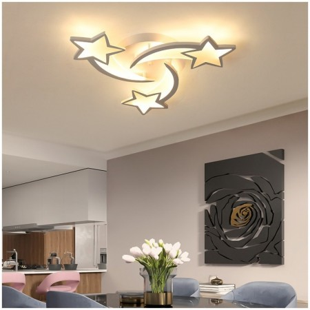 Lustra LED Design Stars 60W CCT Dimabila - Ledel