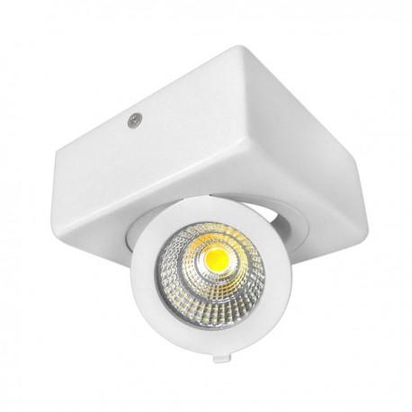12W Aplica LED COB patrata, Ajustabila, lumina calda/neutra/rece