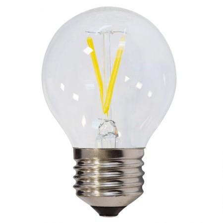 Bec LED E27 FILAMENT G45 2W 200Lm - Ledel