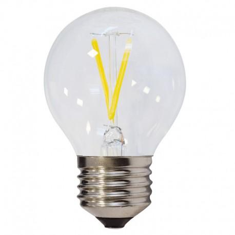 Bec LED E27 FILAMENT G45 2W 200Lm lumina alba/neutra/rece