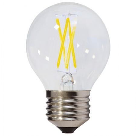 Bec LED E27 FILAMENT G45 4W 400Lm lumina calda/neutra/rece