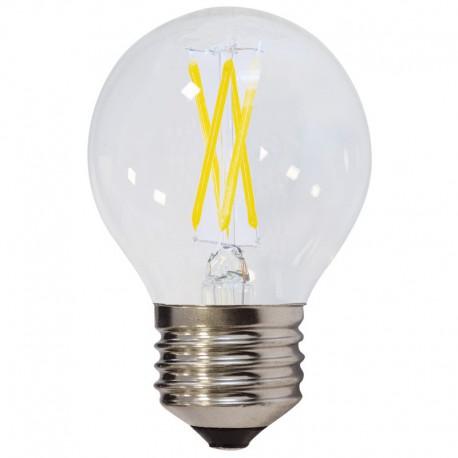 Bec LED E27 FILAMENT G45 4W 400Lm