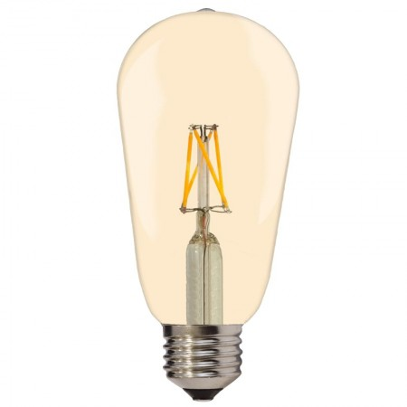 Bec LED E27 4W 400Lm lumina calda - GOLDEN GLASS