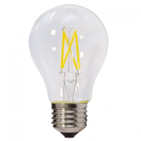 Bec LED FILAMENT E27 A60 6W 600Lm lumina calda - VARIABIL