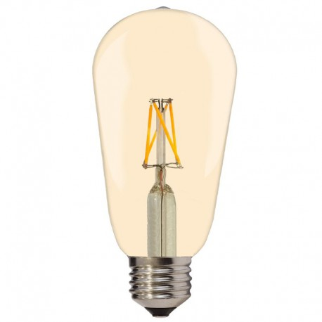 Bec LED E27 6.5W 810Lm lumina calda - GOLDEN GLASS
