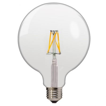 Bec LED E27 FILAMENT G125 6.5W 810Lm lumina rece/neutra/calda