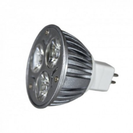 Bec Spot LED MR16 3*1W lumina alba