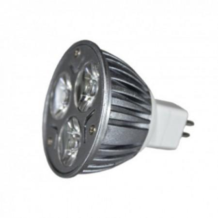 Bec Spot LED MR16 3*1W 12V lumina calda/rece