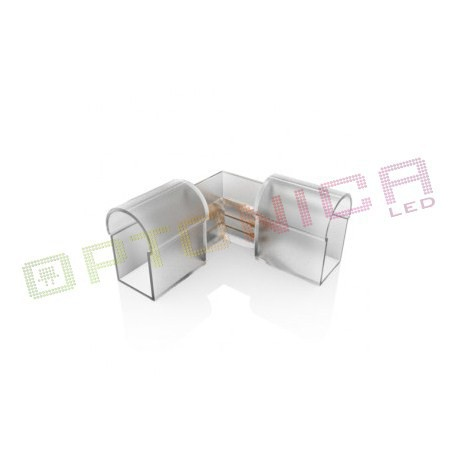 Conector Neon flexibil LED - unghiular vertical