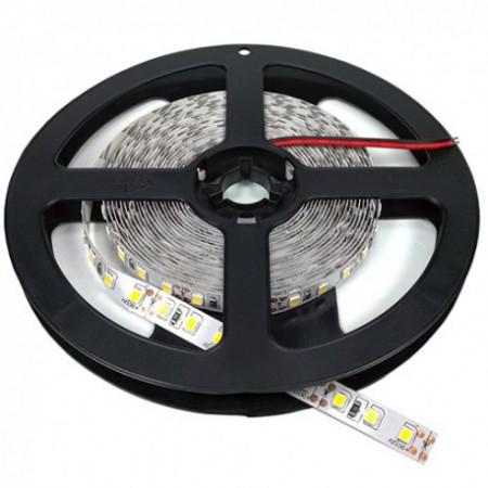 Banda LED 3528 90 SMD/m 7.2w lumina calda impermeabila