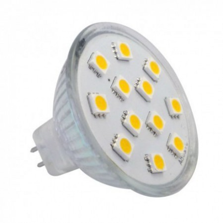 Bec Spot LED MR11 DC12V 3W lumina calda