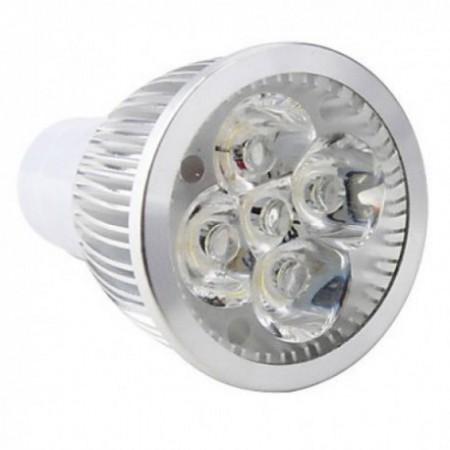 Bec Spot LED GU10 5W 220V lumina calda/rece
