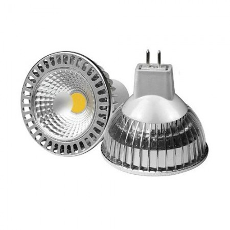 Bec Spot LED MR16 4W/12V COB lumina naturala